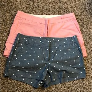 J. Crew Factory City Shorts (2 in bundle)